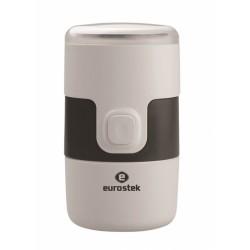 Кофемолка Eurostek ECG-SH05P электр. 200Вт, вмест. 50гр, чаша нерж.сталь, нож нерж.сталь