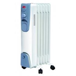 Масляный радиатор Irit IR-07-1006 1000Вт, 6 секций, регул. темп., термостат