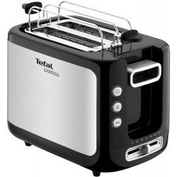 Тостер Tefal TT365031 850 Вт, кол-во тостов 2, управл.Механическое,регул, 7 степеней обжаривания,решетка,поддон