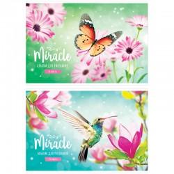"""Альбом для рисования 24л. """"Цветы. Miracle"""" Спейс (А24ф 26346)"""