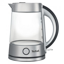 Чайник Tefal KI760D30 Silver (2400Вт,1.7л,стекло,закрытая спираль)