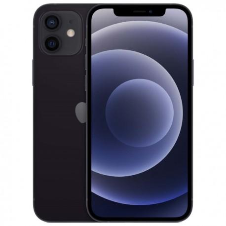 "Смартфон Apple iPhone 12 64Gb Черный 1sim/6.1""/2535*1170/A14/64Gb/12+12Мп/NFC/iOS14/MGJ53RU/A"