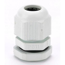 Кабельный ввод PG-11, IP68, для кабеля 5..10мм, серый
