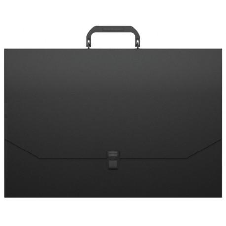 """Папка-портфель ErichKrause """"Matt Classic"""" A3, черный (50436)"""