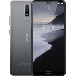 "Смартфон Nokia 2.4 2/32Gb Серый 2sim/6.5""/1600*720/8*2.0ГГц/2Gb/32Gb/mSD/13+2Мп/And10/4500mA"