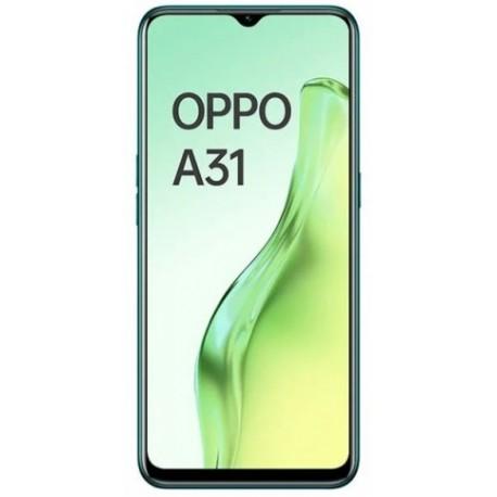 "Смартфон Oppo A31 4/64Gb Зеленый 2sim/6.5""/1600*720/8*2.3ГГц/4Gb/64Gb/mSD/12+2+2Мп/And9/4230mAh"