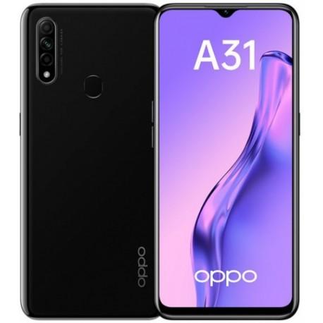 "Смартфон Oppo A31 4/64Gb Черный 2sim/6.5""/1600*720/8*2.3ГГц/4Gb/64Gb/mSD/12+2+2Мп/And9/4230mAh"