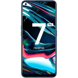 """Смартфон Realme 7 Pro 8/128Gb Зеркальный Синий 2sim/6.4""""/2400*1080/6*1.8+2*2.3ГГц/8Gb/128Gb/mSD/64+8+2+2МП/NFC/And10/4500mAh"""