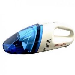 Пылесос автомобильный Zipower PM 6704 White/blue 80Вт, от прикуривателя 12В