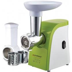 Мясорубка Endever Sigma 44 White/Green 1500 Вт,производительность до 2,7 кг/мин,функция реверс