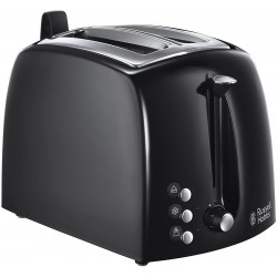 Тостер Russell Hobbs Textures Plus+ Black 22601-56 850 Вт,механ.управлен,решетка,поддон