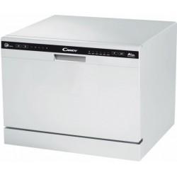 Посудомоечная машина Candy CDCP 6/E-07 White отдельно стоящая, расход воды 7л, 6 прог., 55x50x43.8