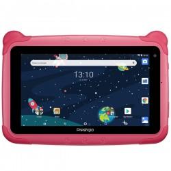 "Планшет Prestigio Smartkids PMT3997 Розовый 7""/1024*600/mSD/1Gb/16Gb/8*1.3ГГц/GPS/2МП/And8.1/2500mAh"