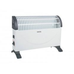 Конвектор Oasis KPO-15 1500Вт, термостат, настенный/напольный