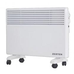 Конвектор Zerten ZL-10 1000Вт, 15кв.м, термостат, настенный/напольный