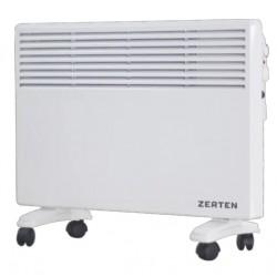 Конвектор Zerten ZL-20 2000Вт, 25кв.м, термостат, настенный/напольный