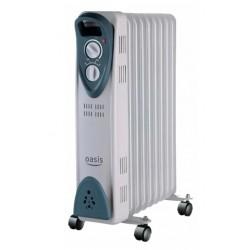 Масляный радиатор Oasis UT-20 2000Вт, 20кв.м, 9 секций, регул. темп., термостат