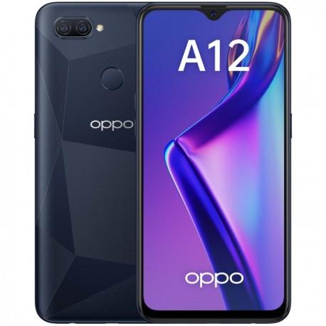 "Смартфон Oppo A12 3/32Gb Черный 2sim/6.22""/1520*720/8*2.3ГГц/3Gb/32Gb/mSD/13+2Мп/And9/4230mAh"