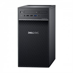 Dell PowerEdge T40 Tower/ E-2224G 3.5GHz(8Mb)/1x16GbU2D(2666)/ On-board SATA RAID/ 2x4Tb SATA Entry 7.2k LFF/ UpTo3LFF cable HDD(need 575-BBWY)/ DVDRW/1xGE/PS290W/ 1YBWNBD/ без ГТД