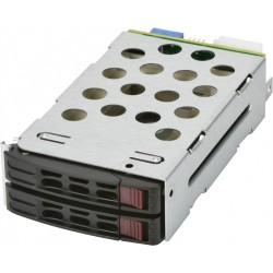 Supermicro Adaptor MCP-220-82616-0N 2.5x2 Hot-swap 12G rear HDD kit w/ fail LED for 216B/826B