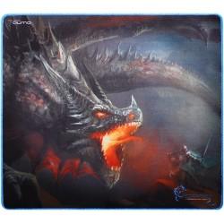 Игровой коврик Qumo Dragon War Single Warrior тканевый (400х355х3) рисунок