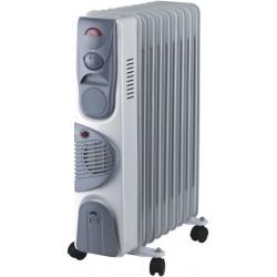 Масляные радиатор Oasis BВ-20Т 2000Вт, 20кв.м, 9 секций, регул. темп., термостат