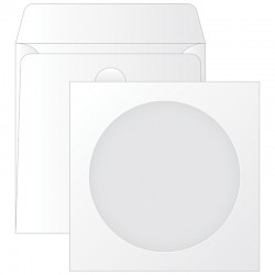 Конверт 125*125мм для CD, KurtStrip, с окном (201070)