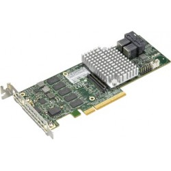Supermicro AOC-S3108L-H8IR-16DD 12Gb/s 8-port SAS Internal RAID Adapter supports up to 16 HDD RAID (0/1/5/6/10/50/60) 2GB cache
