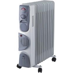 Масляные радиатор Oasis BВ-25Т 2500Вт, 25кв.м, 11 секций, регул. темп., термостат