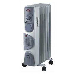 Масляный радиатор Oasis BВ-15Т 1500Вт, 15кв.м, 7 секций, регул. темп., термостат