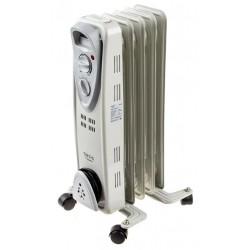 Масляный радиатор Oasis US-10 1000Вт, 10кв.м, 5 секций, регул. темп., термостат