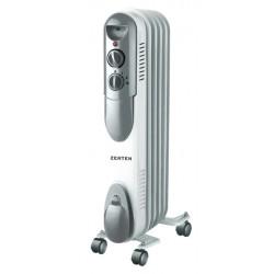 Масляный радиатор Zerten UZS-10 1000Вт, 10кв.м, 5 секций, регул. темп., термостат