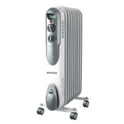 Масляный радиатор Zerten UZS-15 1500Вт, 15кв.м, 7 секций, регул. темп., термостат