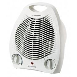 Тепловентилятор Zerten ZTV-20 White 2000Вт, спиральный нагреватель, термостат