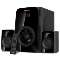 Актив.колонки 2.1 Sven MS-2020 30Вт+2x12.5Вт, FM, USB/SD, дисплей, пульт ДУ, Bluetooth, Черный