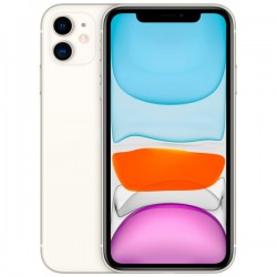 "Смартфон Apple iPhone 11 64Gb белый 1sim/6.1""/1792*828/A13/-/64Gb/-/12+12Мп/Bt/WiFi/GPSNFC/iOS13/MHDC3RU/A"
