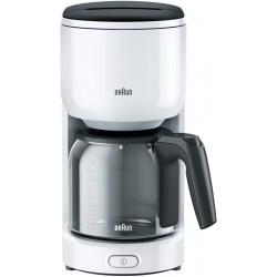 Кофеварка Braun KF 3120 BK Black (1000Вт,1.3л,капельная,тип кофе: молотый)
