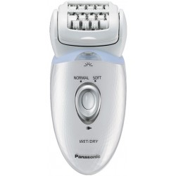 Эпилятор Panasonic ES-ED53 White 4 насадки, 2 скорости, работа от аккумулятора