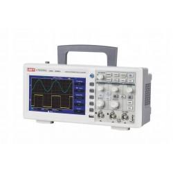 """Осциллограф Uni-T UTD-2025CL, 2-к, 25МГц, 250МВ/с, 25К, 7"""" 400*240, USB"""