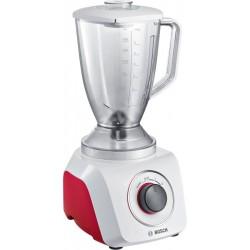 Блендер стационарный Bosch MMB21P0R White/red 500Вт, мерный стакан