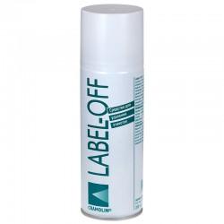 Аэрозоль CRAMOLIN LABEL-OFF (200мл)/очиститель, легко и быстро удаляет наклейки и грязь от скотча