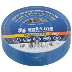 Изолента SafeLine /19мм х 20м//0.15мм синяя