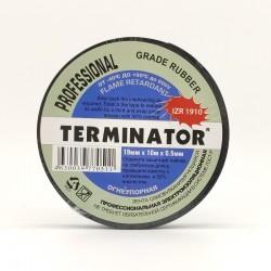 Изолента Terminator IZR 1910 /19мм х 10м/черный/0,5мм, самовулканизирующаяся, полиизобутилен