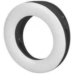 Световое LED кольцо для селфи с креплением на смартфоне DF LED-02 (black)