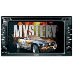 """Автомагнитола Mystery DVD MDD-6220S 2DIN, 6.2"""", 4x50Вт, MP3, CD, DVD, FM, SD, AUX, ПДУ"""