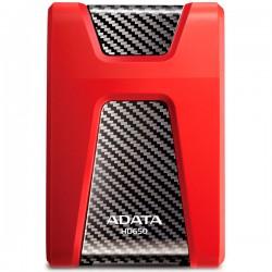 """Внешний жесткий диск A-Data (AHD650-1TU3-CRD) Красный (USB3.0,2.5"""",1TB)"""