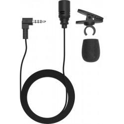 Микрофон RITMIX RCM-102 ,-52 дБ, кабель 1,2м, прищепка, black
