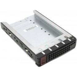 Supermicro MCP-220-93801-0B Black Hotswap Gen 6 3.5 to 2.5 HDD Tray (SC747, 936, 938 and Blade)
