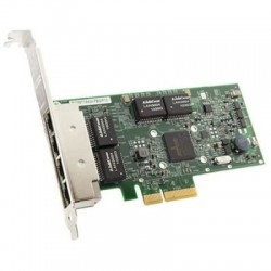 DELL NIC Broadcom 5719 QP 1Gb Network Interface Card, Low Profile,CusKit (W0N4T) (analog 540-11147)