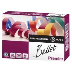 Бумага А4 BALLET Premier (уп./500л.,International Paper,80/500/161%CIE, кл.А)
